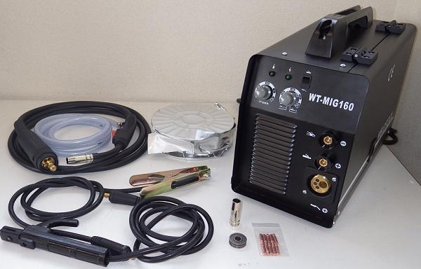 インバーター直流半自動溶接機WT-MIG160
